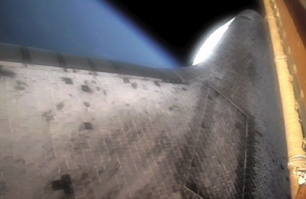 rocket booster Wanna take a trip into space and back on a solid rocket booster? (video)