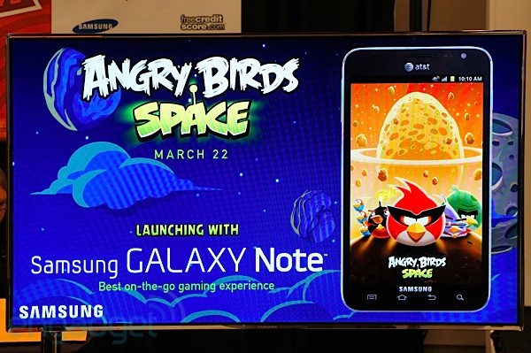 Angry Birds Space now available for download, pigs fly