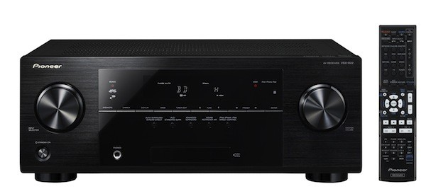 Pioneer launches its 2012 VSX AV receivers lineup, available now starting at $  249