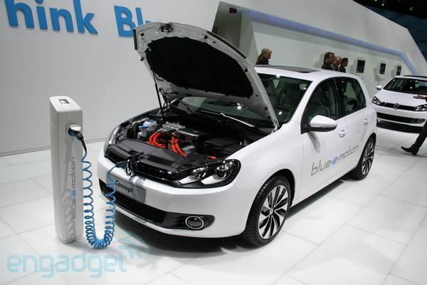VW Golf Blue-e-motion on track for 2013 release