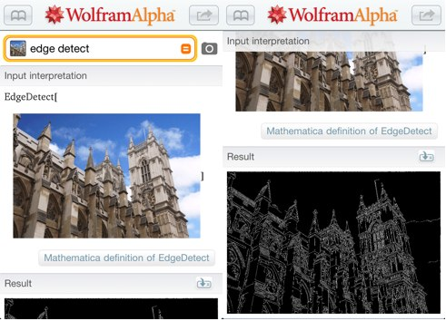 wolframalpha Wolfram Alpha in app purchase for iOS adds advanced image processing capabilities