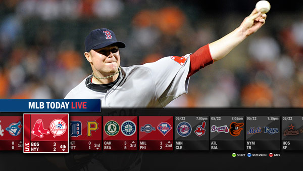 MLB.tv lands on Xbox 360, gets cozy alongside ESPN and UFC