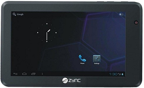 Zync unveils budget-friendly Z990, says it's India's first ICS tablet