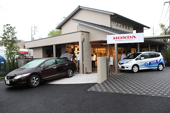 01 Honda test house features Smart Home System for controlling energy usage