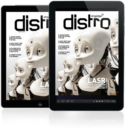 Distro Issue 38: a peek at the Navy's Robotics Laboratory and an interview with MSI's Jeans Huang
