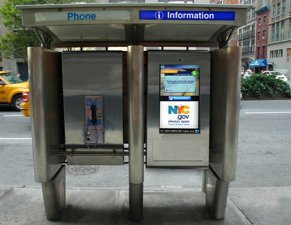 2012nycpayphonepic NYC awards six Reinvent Payphones finalists, asks public to select favorite via Facebook