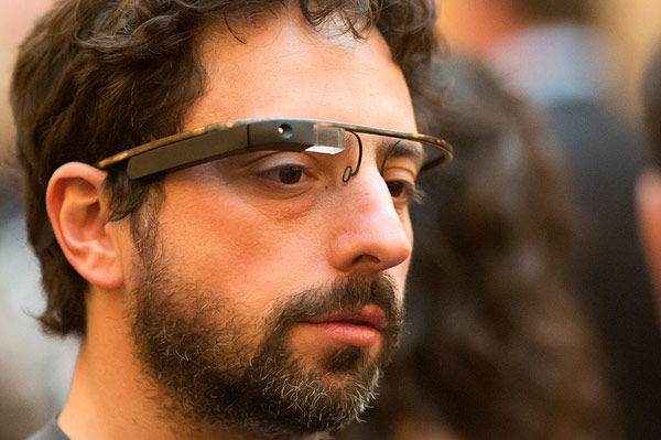 sergey brin project glass engadget