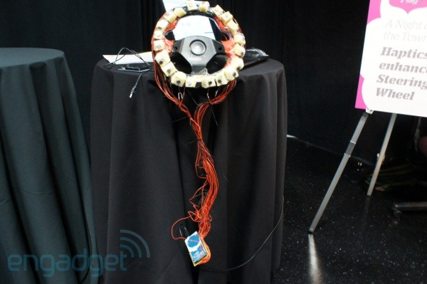 Hands-on with AT&T Labs prototypes: ShadowPuppets and haptic steering wheel