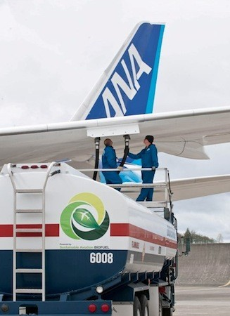 Boeing 787 set for first biofuel-powered flight tonight