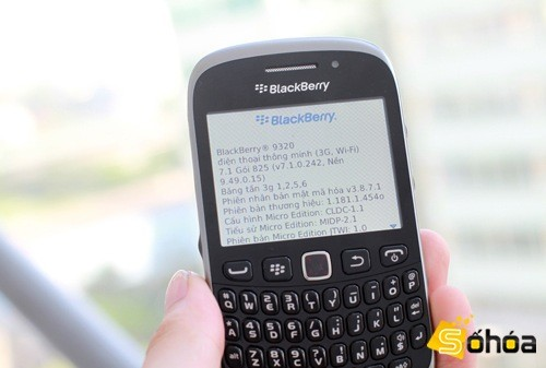 BlackBerry Curve 9320 spotted in Vietnam, leaves nothing to the imagination