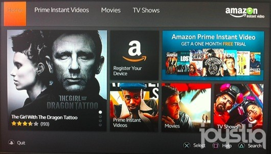 Amazon Instant Video app for the PS3 brings both Prime subscriptions and VOD along