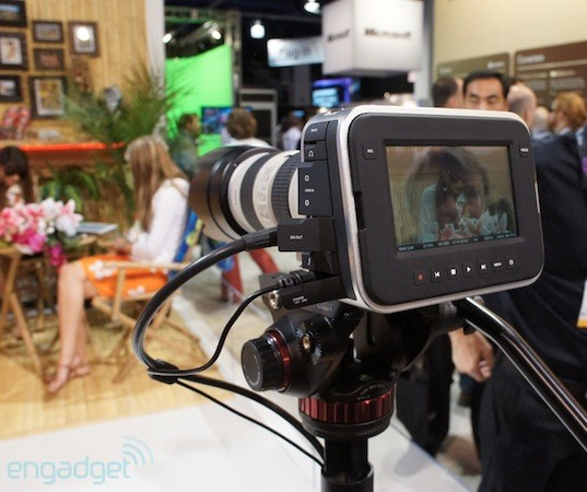 Blackmagic Cinema Camera announced with 'feature film' 2.5K quality, touchscreen UI for $2,995