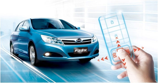 byd remote driving