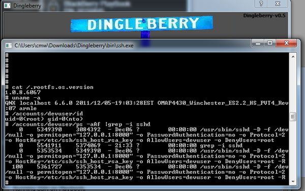 DingleBerry 4.0 cancelled, open-sourced in search of PlayBook OS 2.0 root exploit