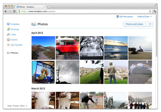 Dropbox adds automatic photo uploads for Mac and Windows, up to 3GB sweetener just for using it