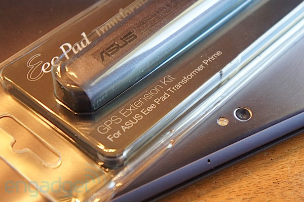 ASUS Transformer Prime GPS Extension Kit hands-on