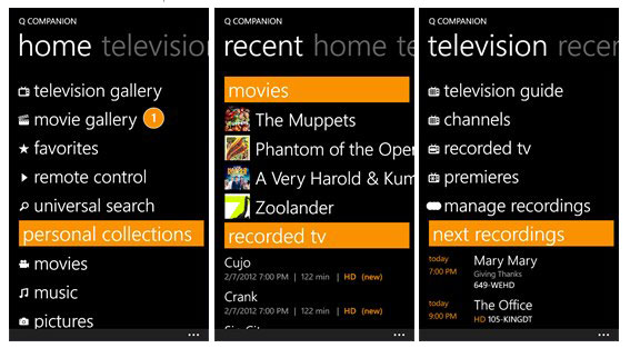 Ceton's Q DVR companion app gets detailed tour (video)