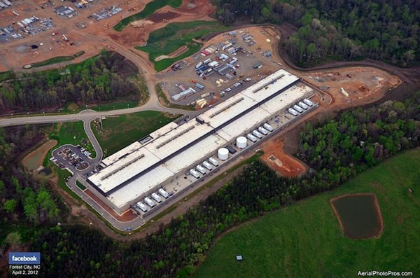Facebook flips the swtich on its North Carolina data center, cooled with balmy mountain air