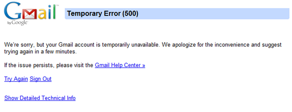 Gmail down for many, world struggles to stay in touch