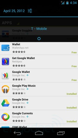 Google Wallet up and running on T-Mobile Galaxy Nexus