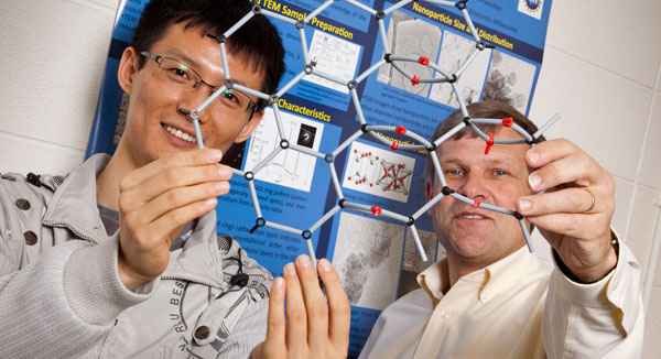 New material brings semiconducting to the graphene party