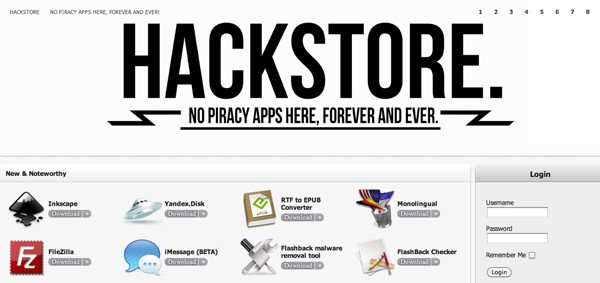 HackStore for Mac OS X