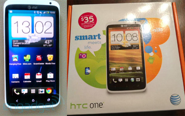 HTC One X sold early at AT&amp;T