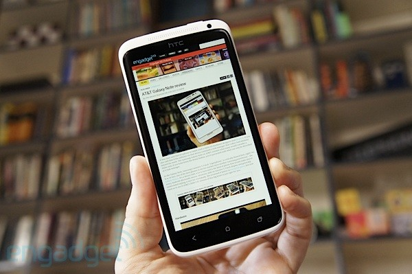 HTC ONE X REVIEW -- Engadget