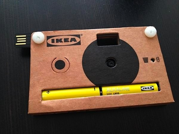Ikea cardboard digital camera: when Instagram isn't authentic enough