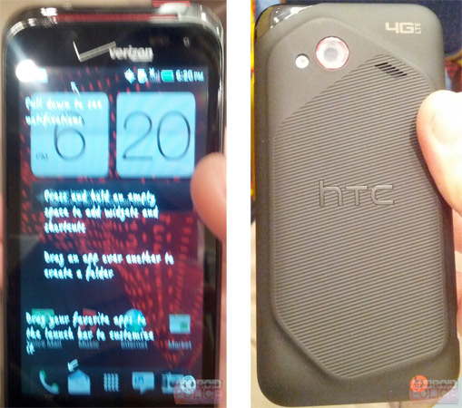 HTC Incredible 4G sheepishly grins for Mr. Blurrycam