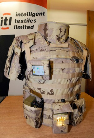 Conductive uniforms may power future infantry gear, set to begin field trials next month