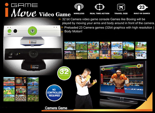 Keepin' it almost fake Kinect console has 23 games, no shame