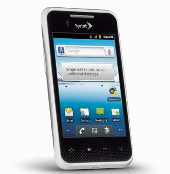 Sprint and LG launch Optimus Elite: entry-level specifications, planet-saving hopes