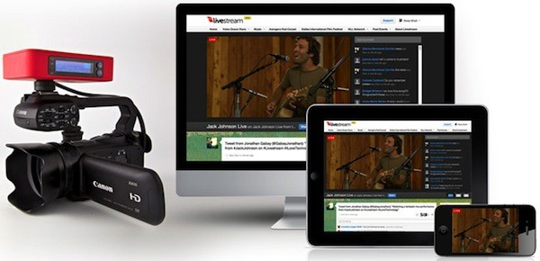 Livestream Broadcaster pre-orders available now, shipping at the end of May for $  495