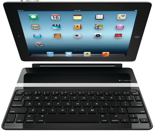 Logitech reveals Ultrathin Keyboard Cover for the third-gen iPad, a set of keys that protect your slate for