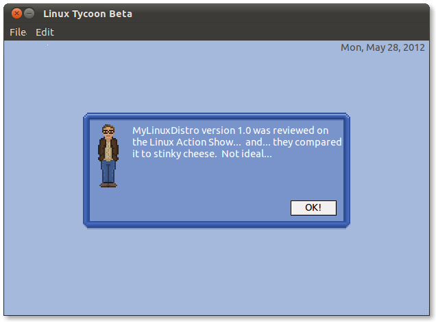 ImageLinux Tycoon game lets you 'create' your own distro, neck beard not required