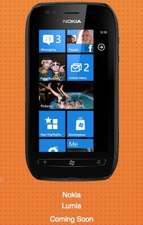 Canada's WIND Mobile lists Nokia Lumia 710, says it's coming soon