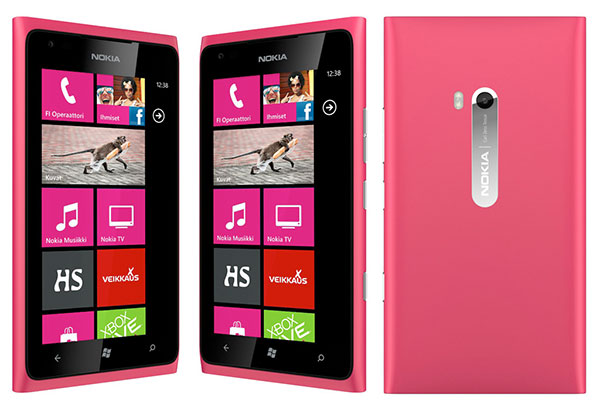 lumiamagenta Nokia Lumia 900 blushes, new magenta version revealed at Finnish e tailer
