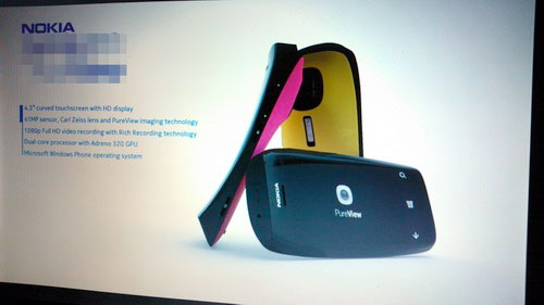 'Leaked' Nokia Lumia PureView concept images brandish bright colors, chunky profile