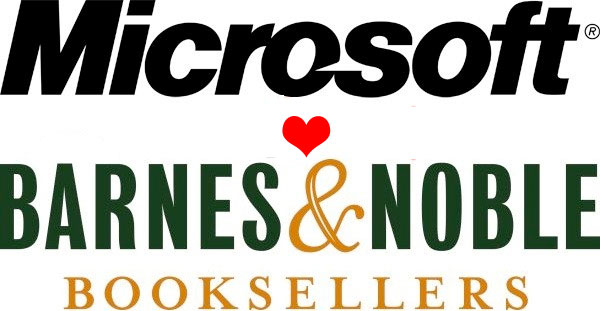 Microsoft hearts Barnes and Noble