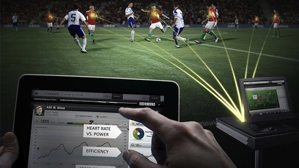 Adidas debuting miCoach tracking technology in this year's MLS All-Star Game