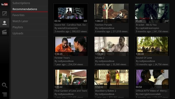 my youtuberecommendedscreenshot TECHPULSE April 28, 2012