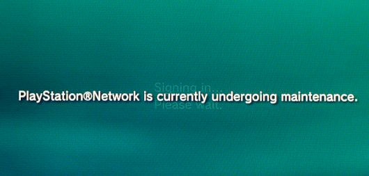 PSA: PlayStation Network goes into maintenance from 9am EST