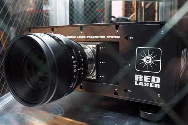 Redray 4k Cinema Laser Projector And Player Eyes On Video