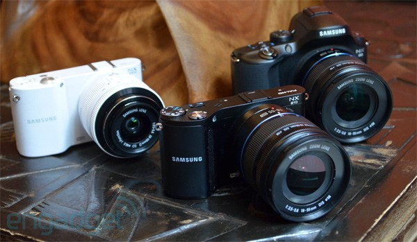 Samsung's NX20, NX210 and NX1000 mirrorless camera trio, hands-on