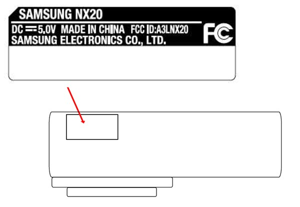 Samsung's WiFi-equipped NX20 camera gets FCC mugshot