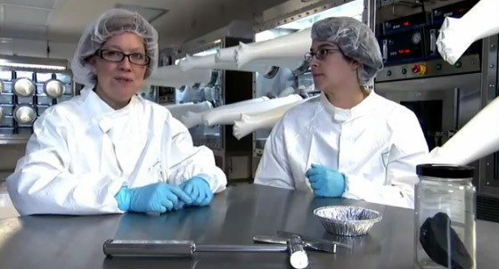 Smithsonian's super squeaky clean meteorite lab makes your room look like a pig sty
