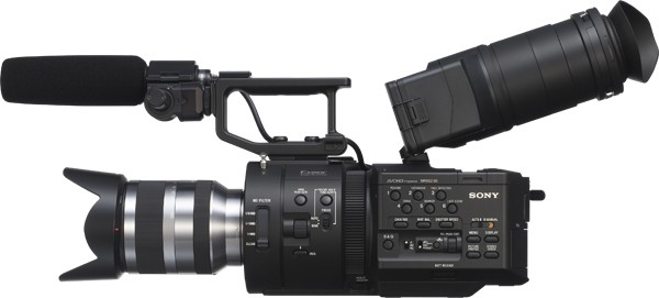 Sony Cinema Camera Sony Outs Nex-fs700 Cinema