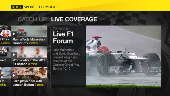 BBC Sports app coming to Sony Bravia TVs, PlayStation 3 and Blu-ray players