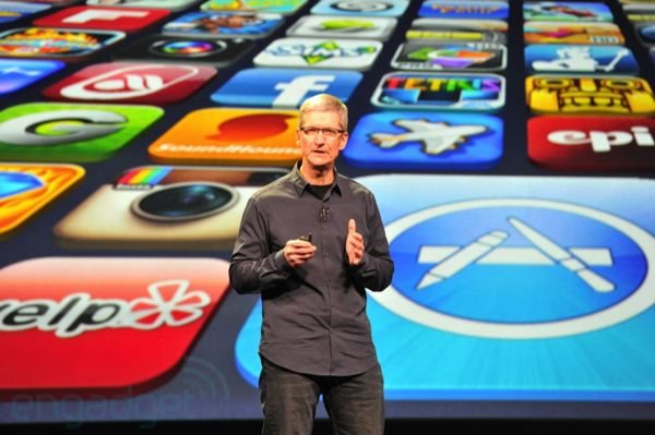 apple ceo tim cook ipad